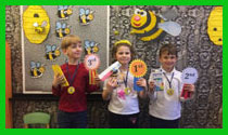 The winners of the Spelling Bee contest (Tigers)